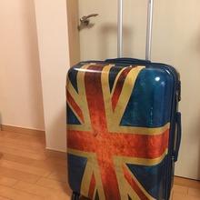 スーツケースが届きました
