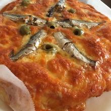 モッツァレラとアンチョビのピザ自作Ver第2弾
